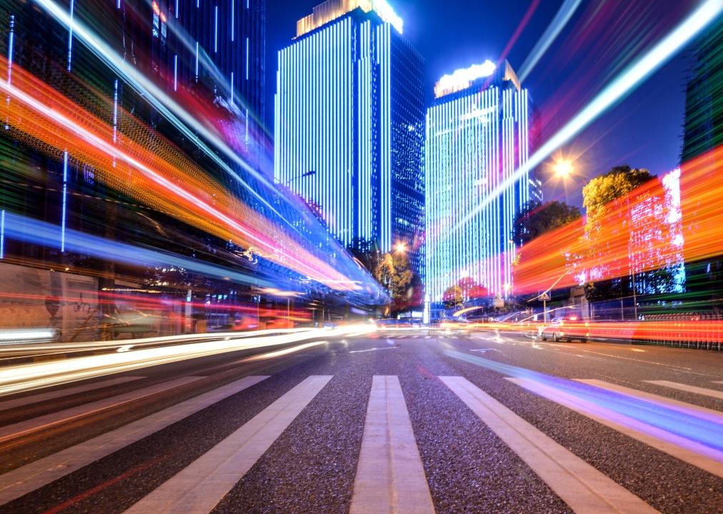 Speed Map Panels in HongKong